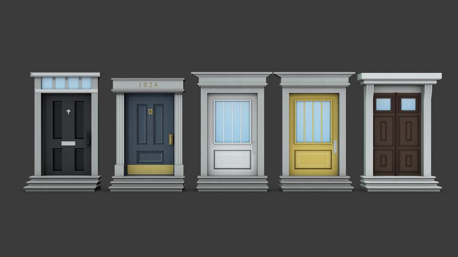 模块化建筑-ISOLAND royalty-free 3d model - Preview no. 3