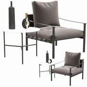 Flou Iko扶手椅 3d model