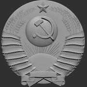 Ussr Emblem 3d model