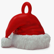 Printable Santa Hat Pendant 3d model