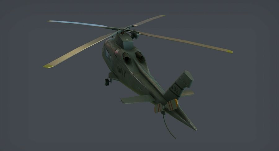 Agusta AW-109 royalty-free 3d model - Preview no. 3
