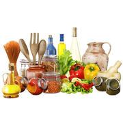 Kitchen food set 01 3d model