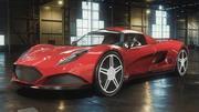 概念车低聚 3d model