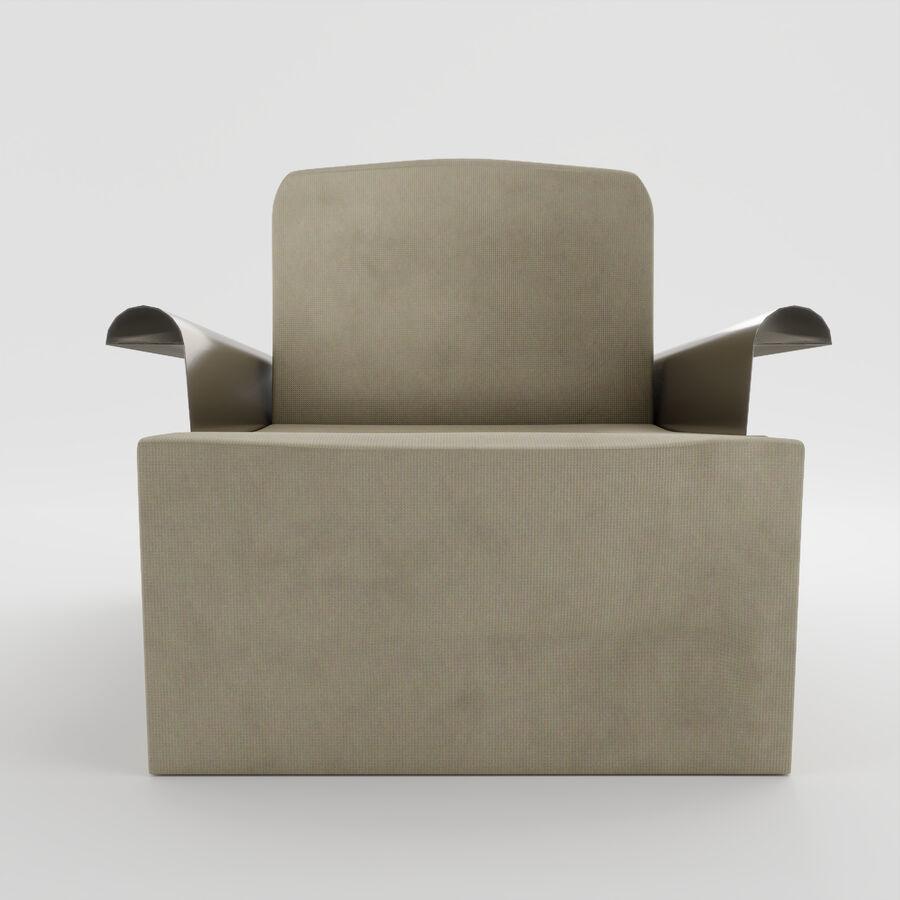 Art Deco Armchair 3d Model 19 Obj Fbx Max Blend Free3d