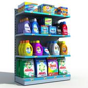 Detergentes para prateleiras de supermercados 3d model