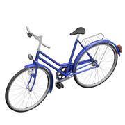 Голландский велосипед 3d model