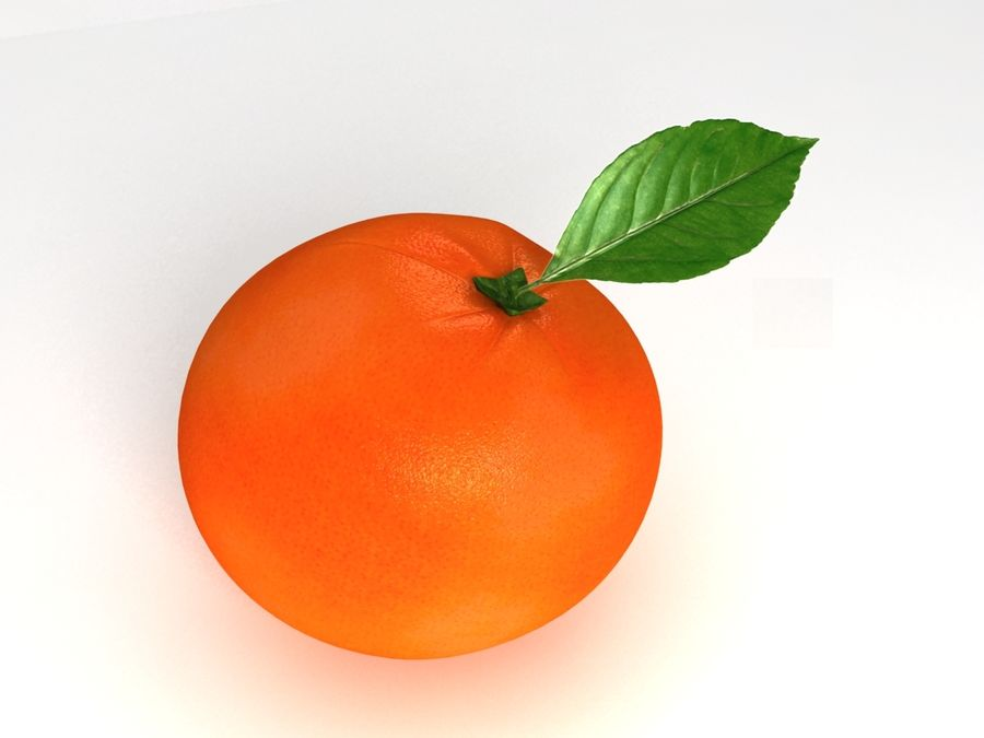 Grapefruit royalty-free 3d model - Preview no. 2