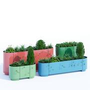 Pop planter 3d model