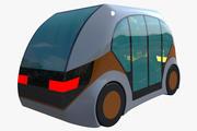 Future car II (1) 3d model