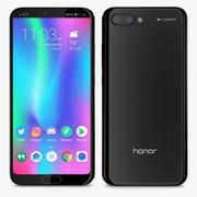 E3D - Huawei Honor 10 Noir 3d model