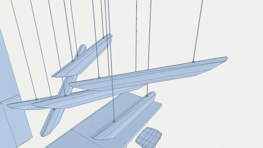 Modernt kök royalty-free 3d model - Preview no. 9