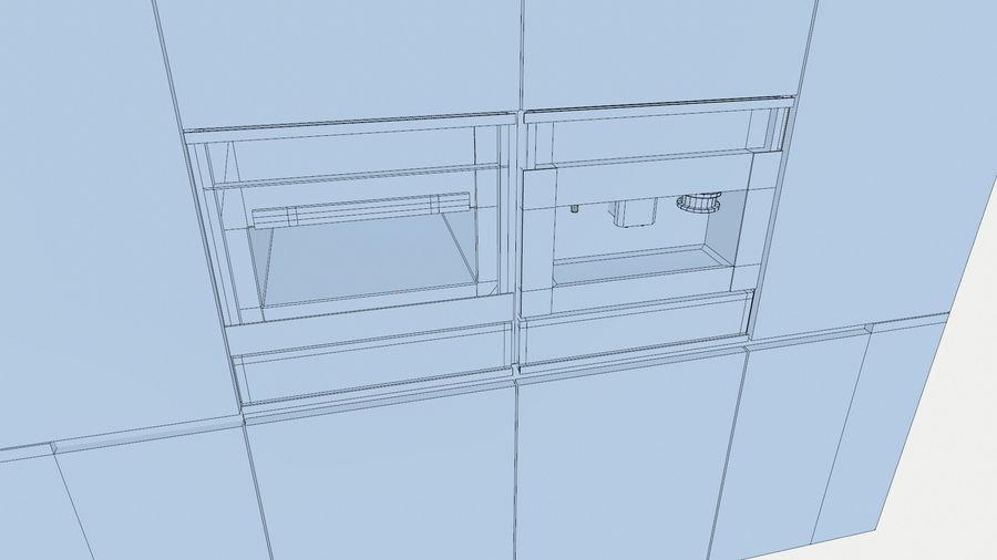 Modernt kök royalty-free 3d model - Preview no. 12