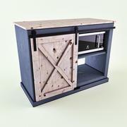 Snack Cabinet 3d model