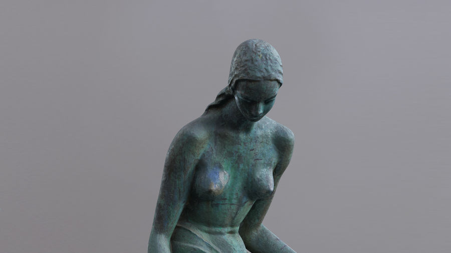 Bronze Sculpture royalty-free 3d model - Preview no. 1