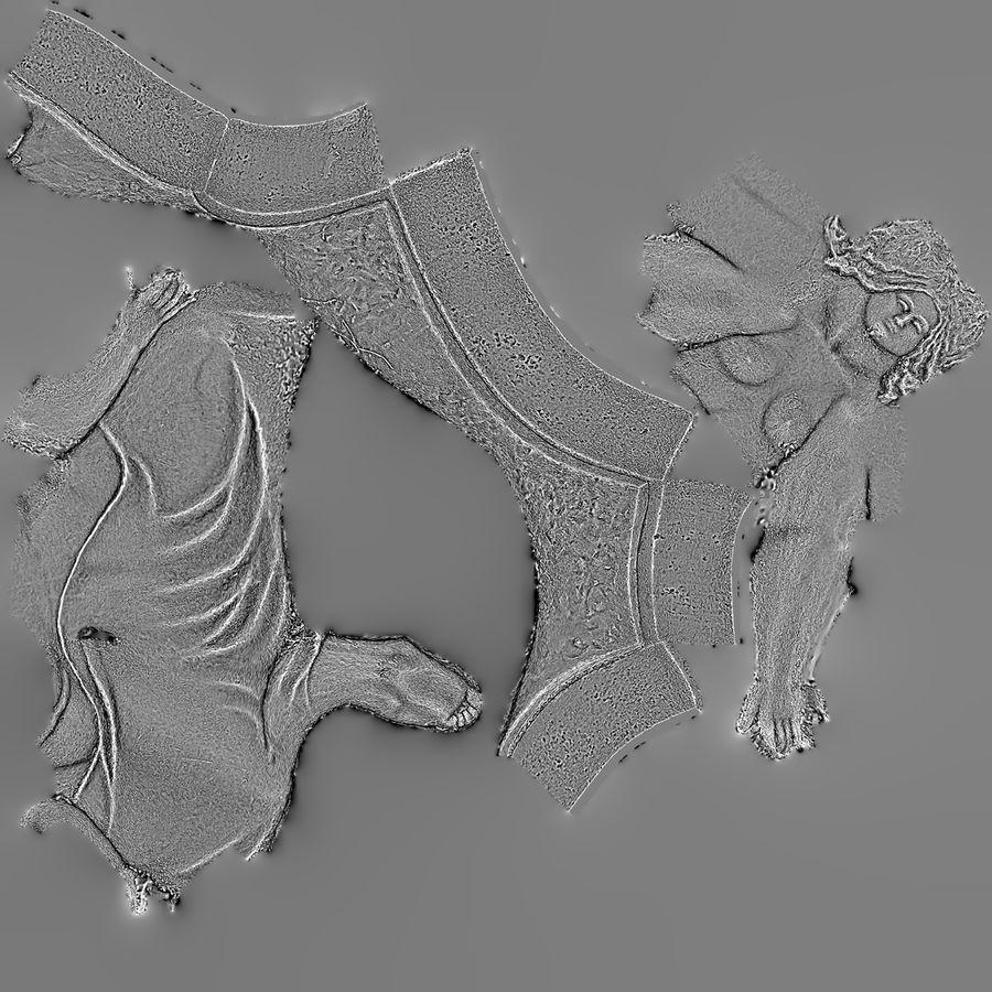 Bronze Sculpture royalty-free 3d model - Preview no. 6