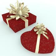 coeur présent 3d model