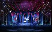 3DS Max 2014 Stage Concert 15 3d model