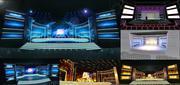 Koncert sceniczny 3DS Max 2014 28 3d model