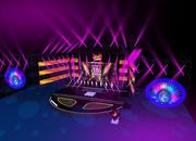3DS Max 2014 Stage Concert 44 3d model