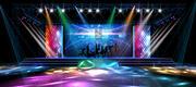 3DS Max 2014 Stage Concert 46 3d model