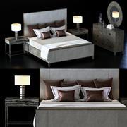 Bernhardt Linea Yatak Odası Takımı 1 3d model