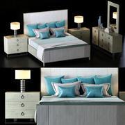 Bernhardt Linea Yatak Odası Takımı 2 3d model