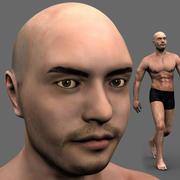 Athleticus - animowany model sportowca 3D 3d model