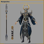 Низкополигональные 3D персонажи 3d model