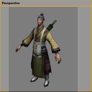 低ポリ3Dキャラクター-ピルグリム2 3d model