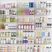Pharmacy Showcase 3d model