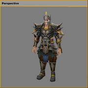 Light Armour Set - Male 05 3d model