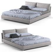 Bed Alivar Oasi 3d model