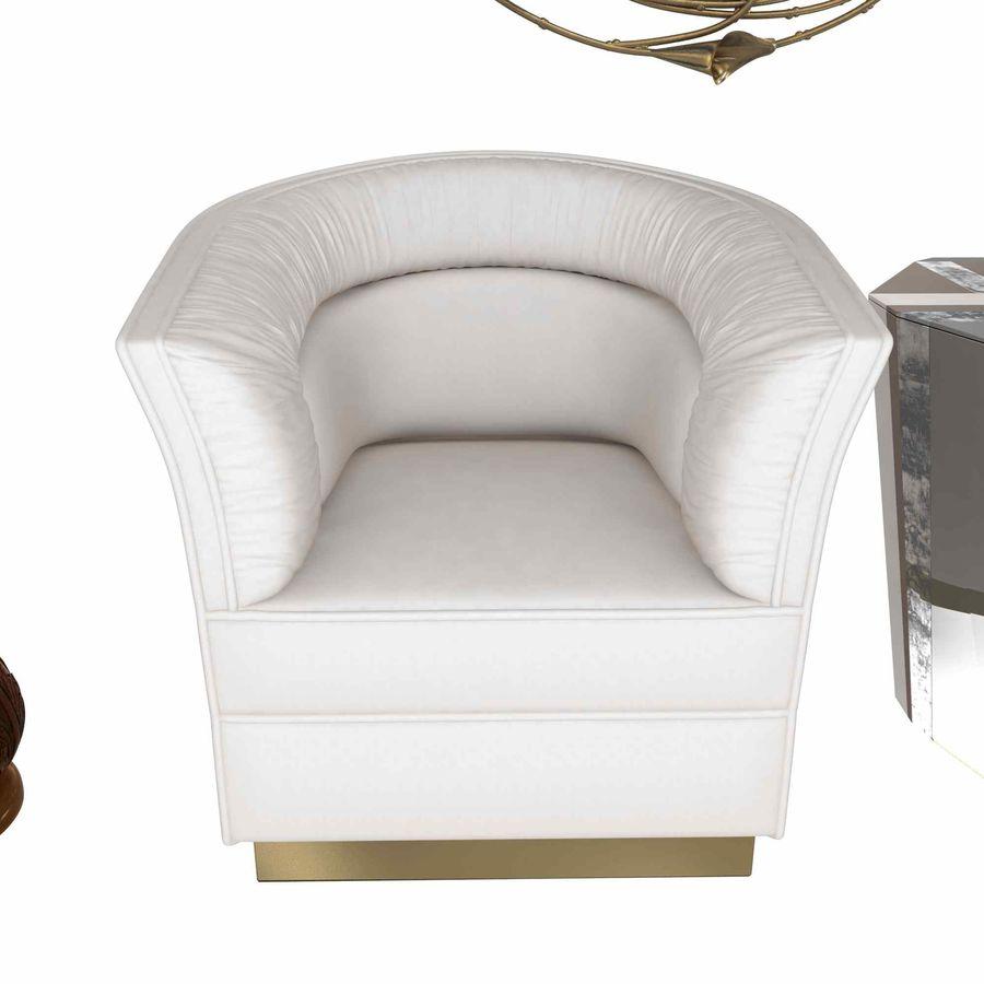 Conjunto de muebles Koket modelos 3d royalty-free modelo 3d - Preview no. 4