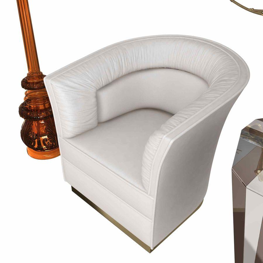 Conjunto de muebles Koket modelos 3d royalty-free modelo 3d - Preview no. 5