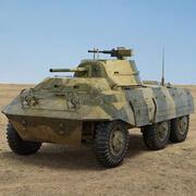 M8グレイハウンド 3d model