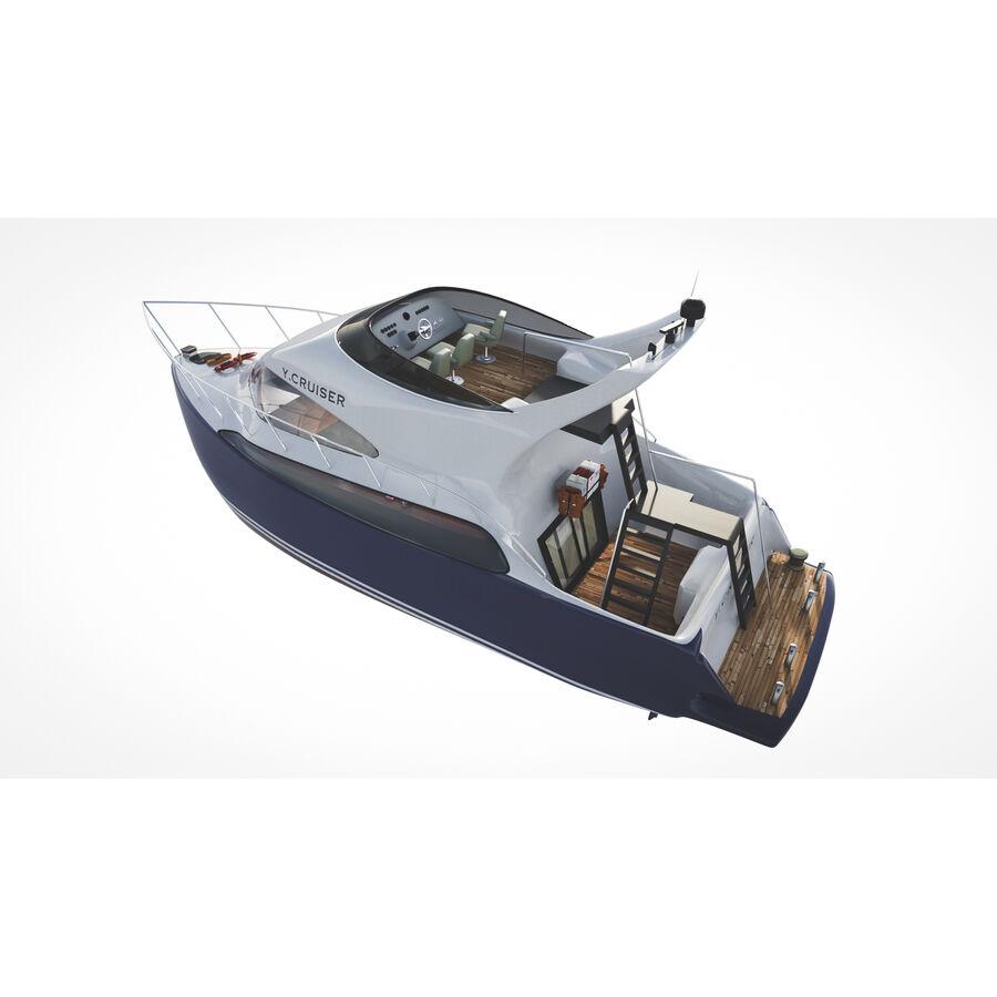 Bateau de croisière royalty-free 3d model - Preview no. 13