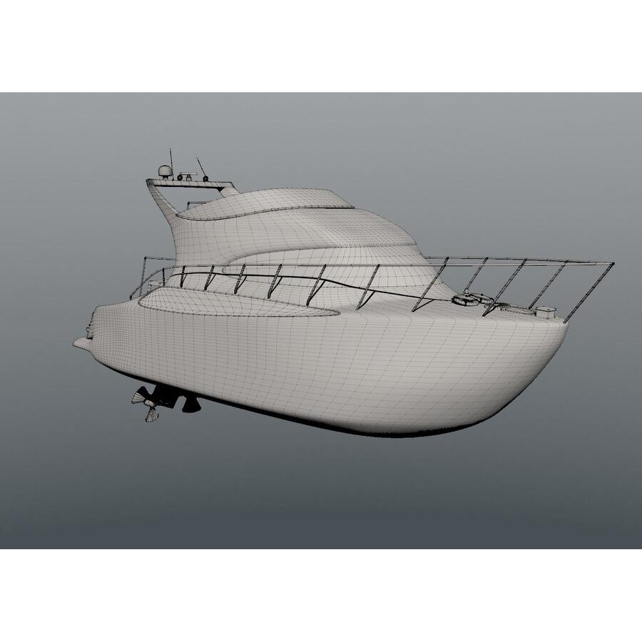 Bateau de croisière royalty-free 3d model - Preview no. 15