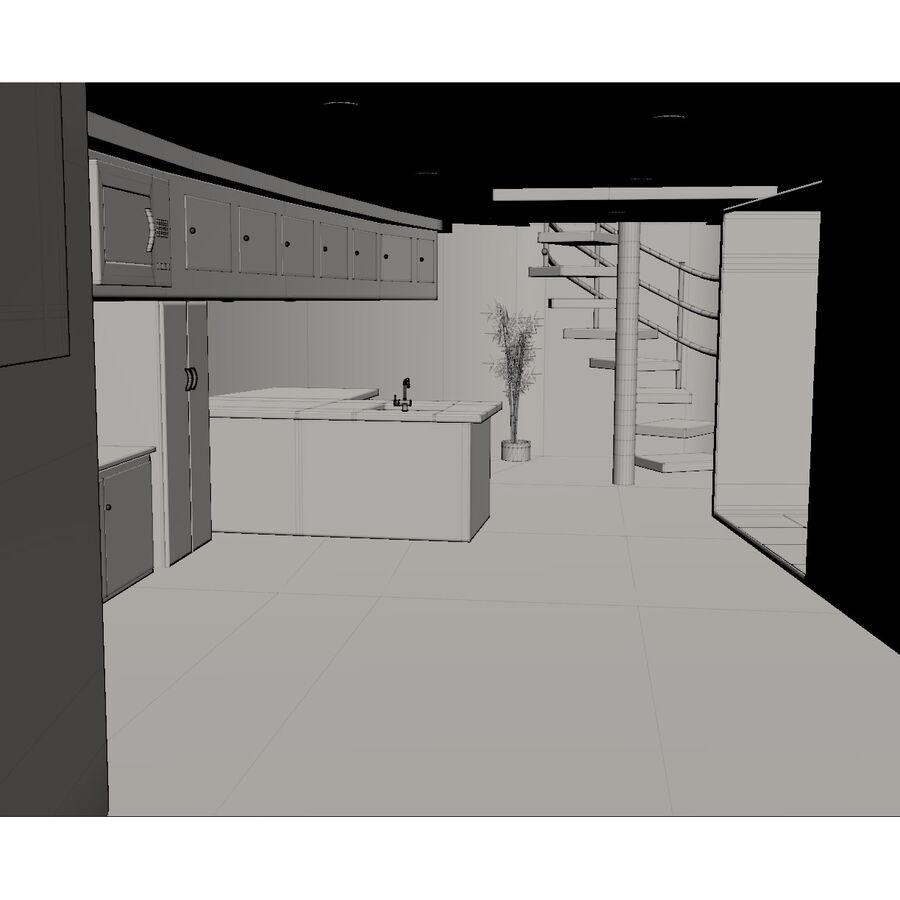 Bateau de croisière royalty-free 3d model - Preview no. 17