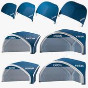 Tents Tripod inflatable Axion 3d model
