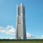 Torre de referencia de Yokohama modelo 3d