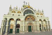 Basílica de São Marcos 3d model