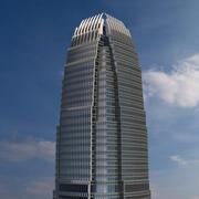 Centre financier international 2 3d model