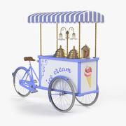 Mobiler Eiswagen 3d model