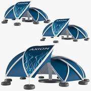 Tents Flower inflatable Axion 3d model