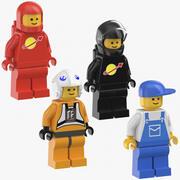 Lego Männer 3d model