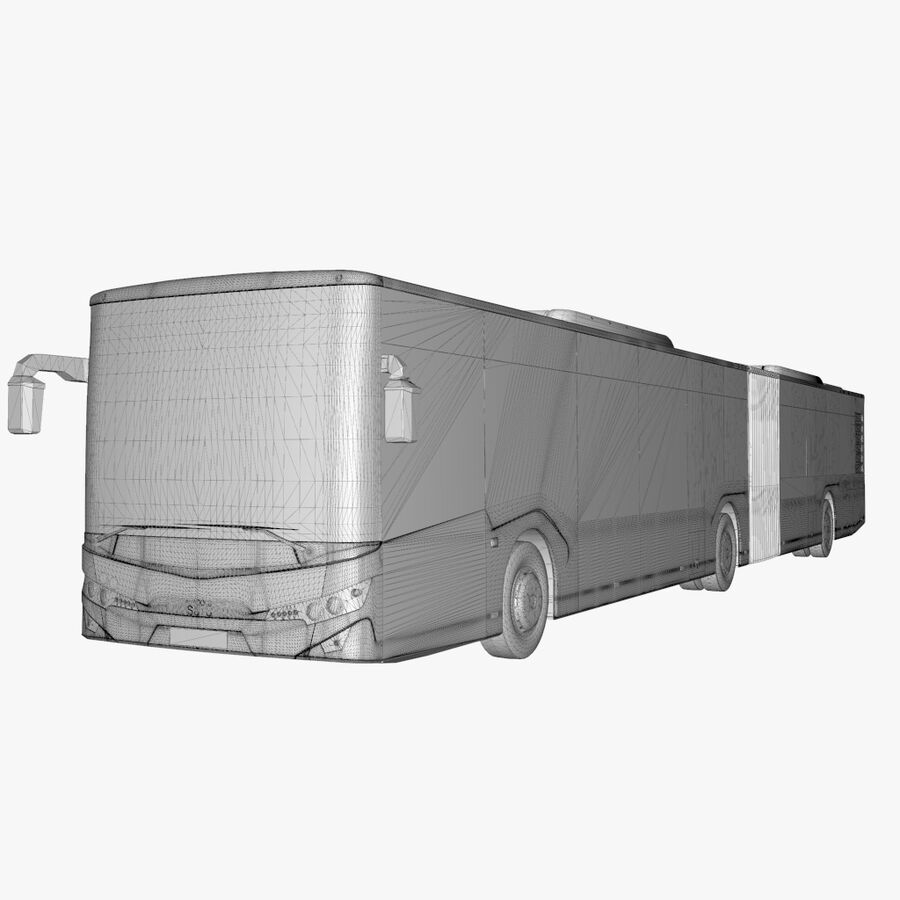 Isuzu Citiport 18 royalty-free 3d model - Preview no. 28