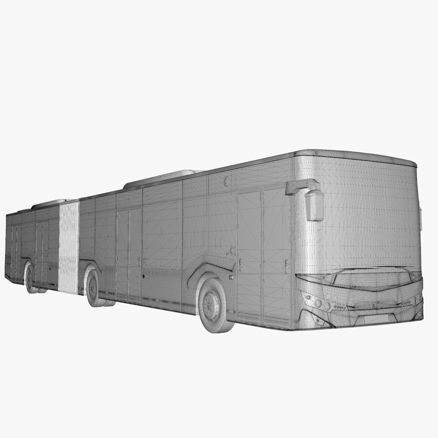 Isuzu Citiport 18 royalty-free 3d model - Preview no. 25