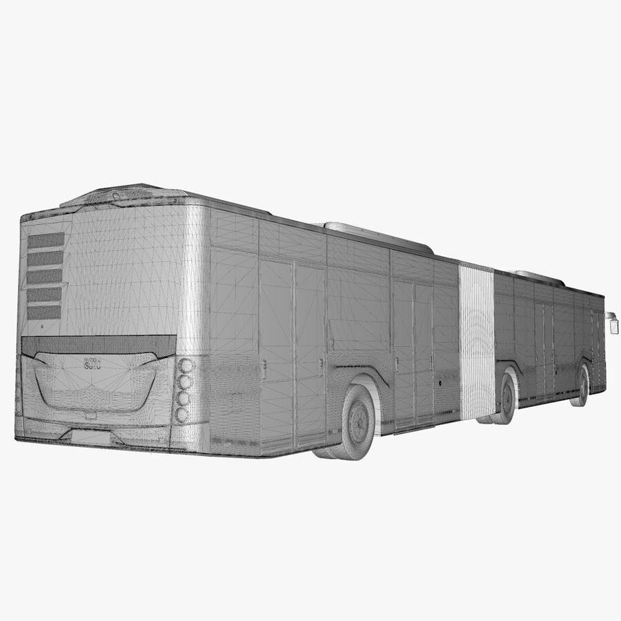 Isuzu Citiport 18 royalty-free 3d model - Preview no. 26