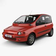 Fiat Multipla 1998 modelo 3d