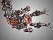 Montaj Robotu Donanımlı 3 Boyutlu Model 3d model